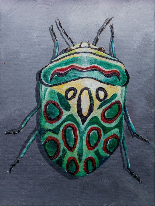 Picasso Beetle - Copper Lantern