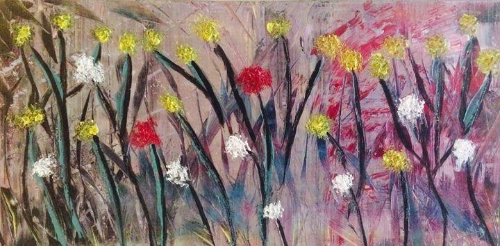 Floral - Long Art