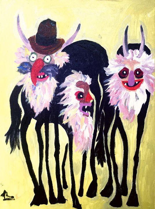 The Happy Wolves - Ioanartsy