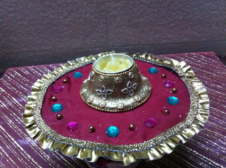 Candle Platter - KIPI CREATIONS