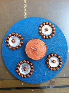Handmade Decorative Candle - KIPI CREATIONS