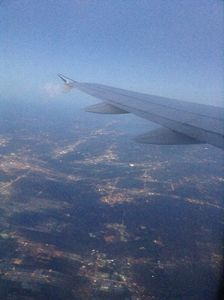 A beautiful flight