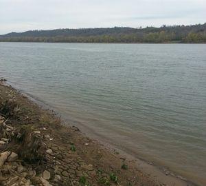 Peaceful Ohio River