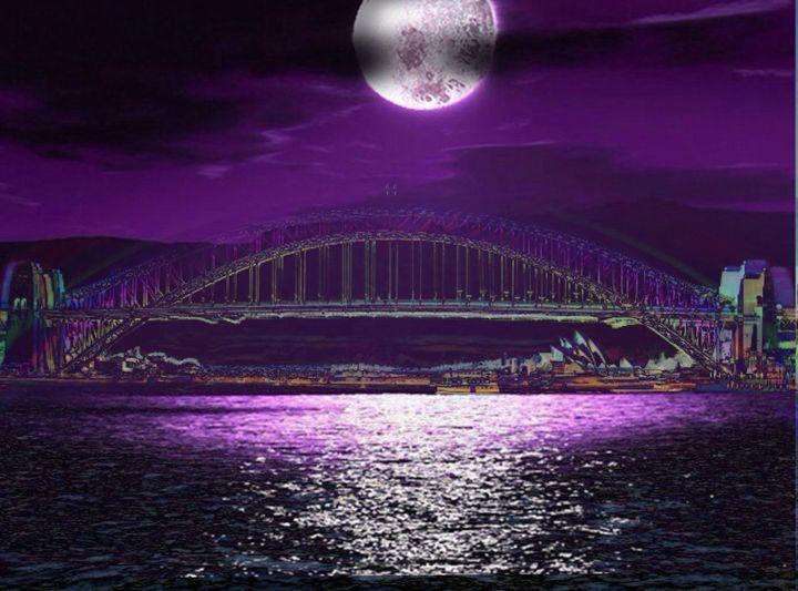 midnight in sydney - Manic StreetArt design
