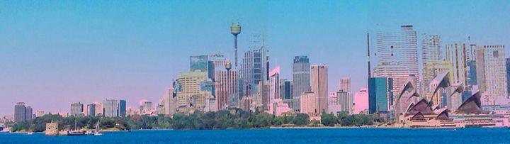 sydney skyline - Manic StreetArt design