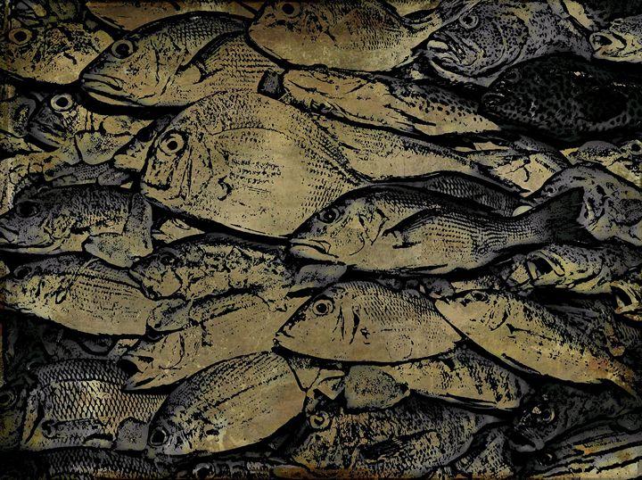 fish frenzy - Manic StreetArt design