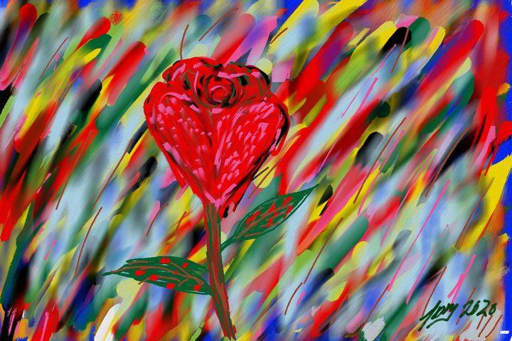 My Rainbow Rose - Jose Milian