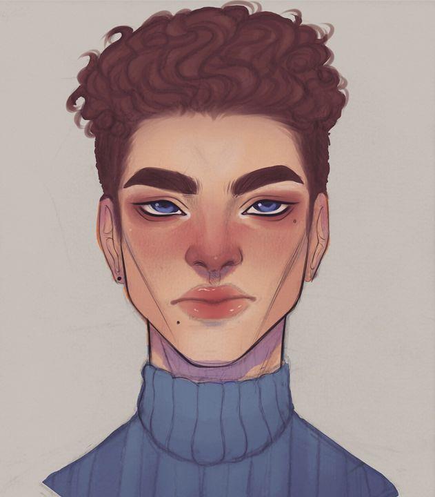 Blue Boy - R.A.RAMBONES