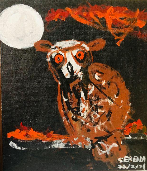 The Night Owl - S&S ART GALLERY