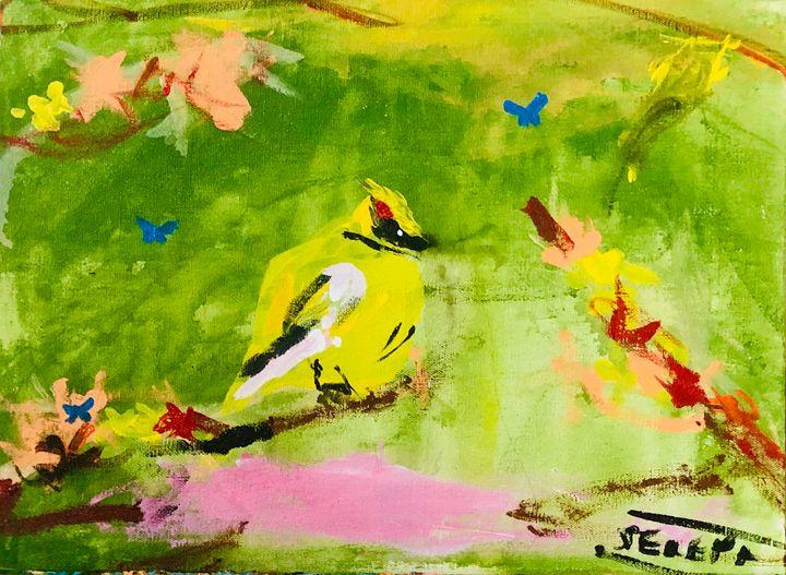 Bird of the Woods - S&S ART GALLERY