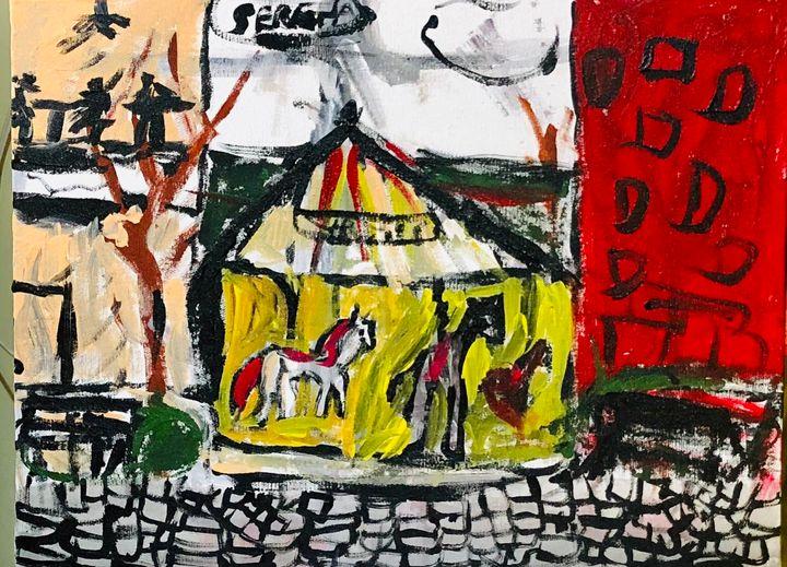 Portugal Carousel - S&S ART GALLERY