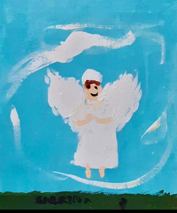 The Child Guardian Angel - S&S ART GALLERY