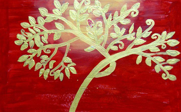 golden leaf - Karthick's Gallery
