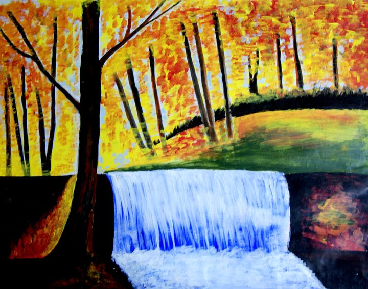 Water fall - Karthick's Gallery