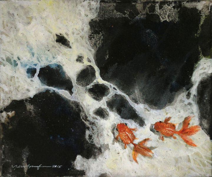 Keep swimming 1 - Yew Souf Art Gallery