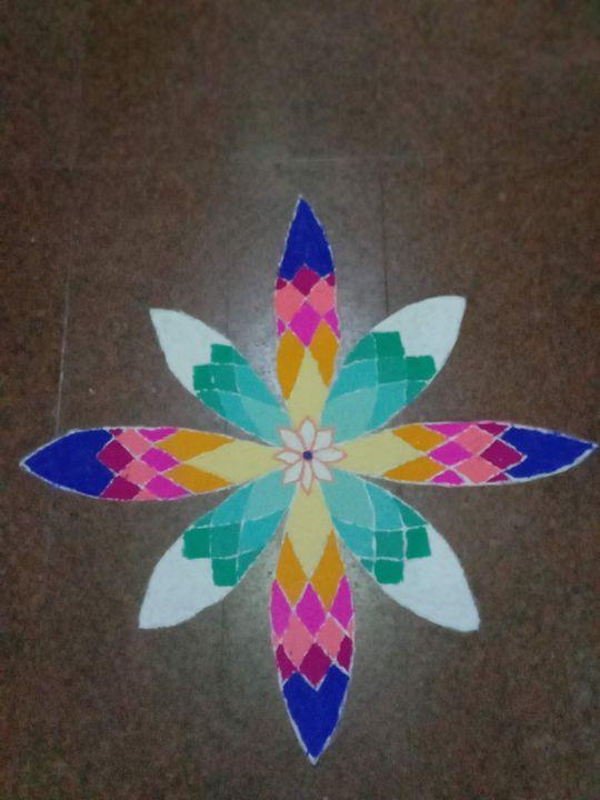 Rangoli - Prags Artwork