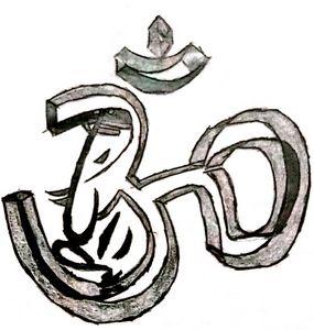 Om with Lord Ganesha