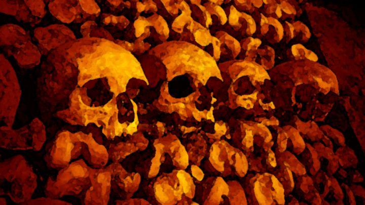 Skull Wall - Brut Art