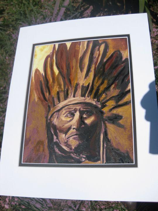 Geronimo in Browns - Brut Art