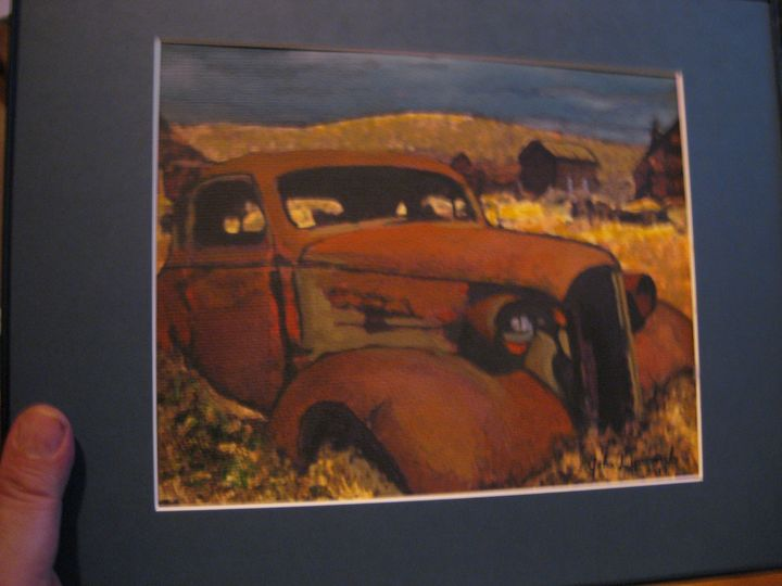 Rusty Montana - Brut Art