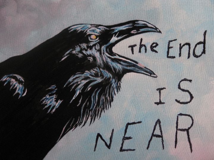 The End Is Near - Brut Art