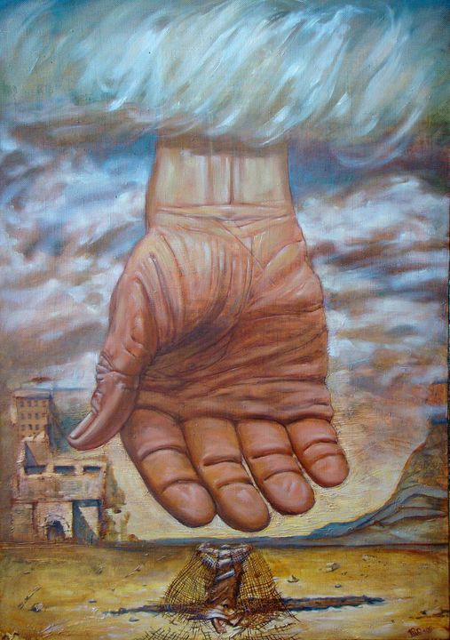 God is Power - SergRoyArt