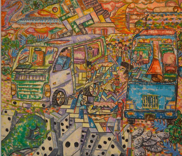 Bus wars - Gordon Solomon Gallery