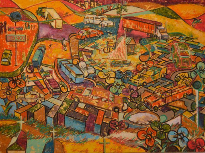 More cars than people - Gordon Solomon Gallery