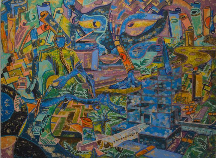 Labor - Gordon Solomon Gallery