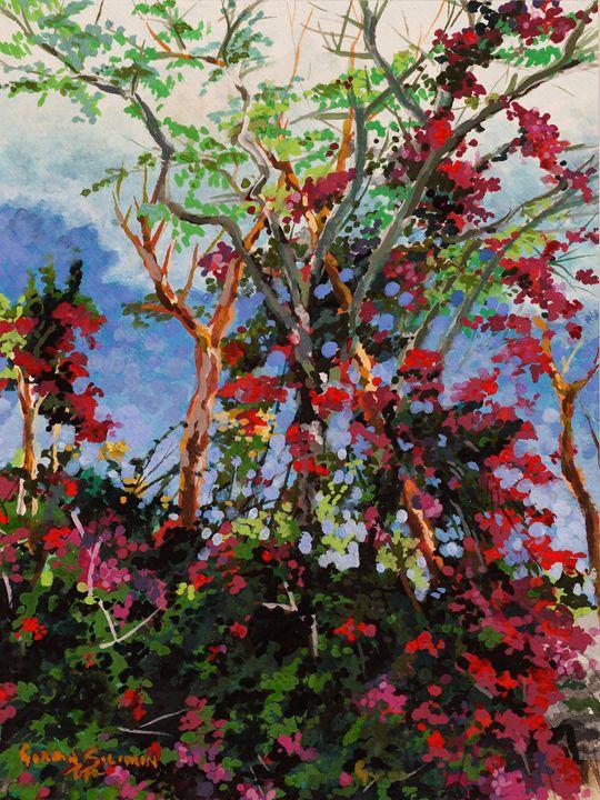 Bougan Heights - Gordon Solomon Gallery