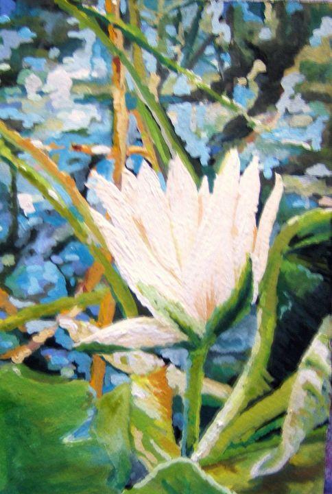 White lilly - Gordon Solomon Gallery