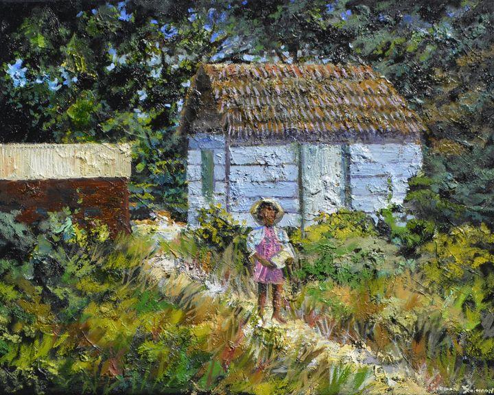 Carring a gift - Gordon Solomon Gallery