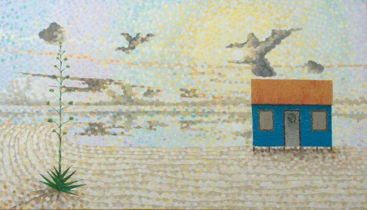 Angels around maypole - Gordon Solomon Gallery