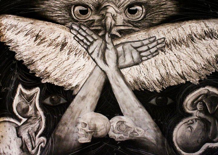 Human and Bird - Sayaka I