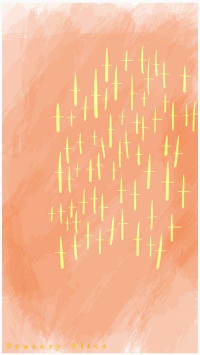 scs0021 summer evening shower* - Sensory Slice