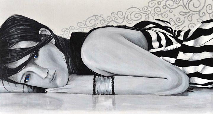 Blue Eyes - Leslie Emmerson Artwork