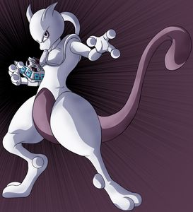 Mewtwo with Duel Disk