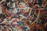 grand toile abstraite