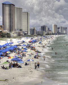 Holiday At The Beach HDR Photo