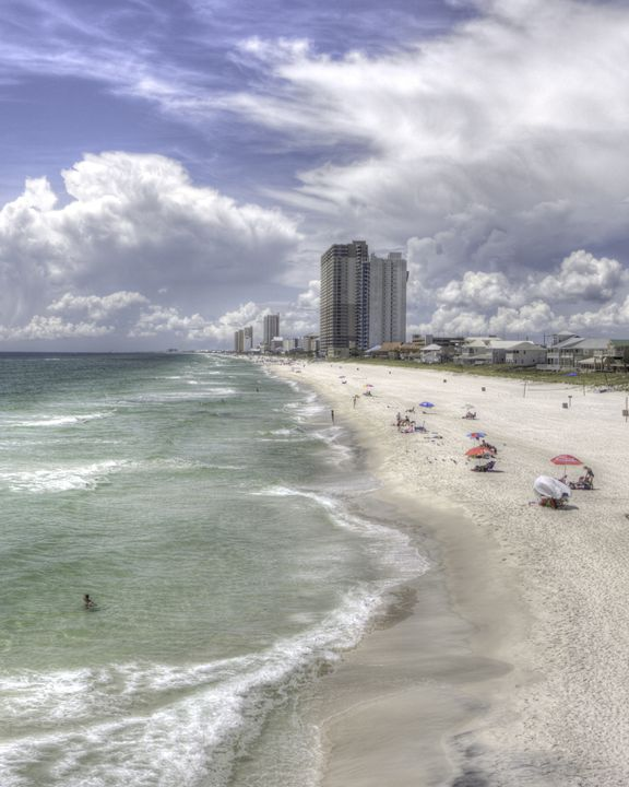 Florida Gulf Coast Beaches HDR Photo - Studio 1 MediaWorks
