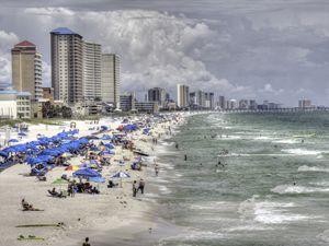 Panama City Beach, Florida Coastline