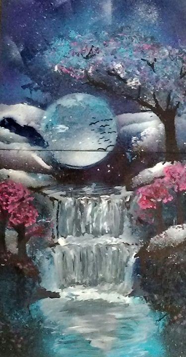 Night dream - Splashinked