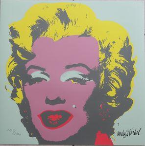 Andy Warhol Lithograph Marilyn - Warhol Gallery