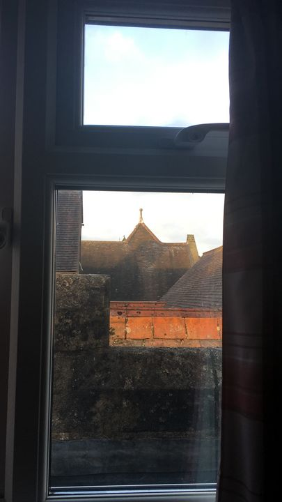 Building view from a window - Design