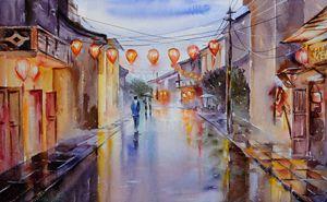 Hoi An after the rain