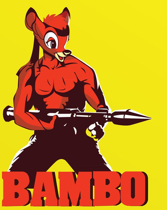 Bambo - The Raging Deer Commando - Project : V