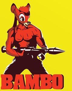 Bambo - The Raging Deer Commando