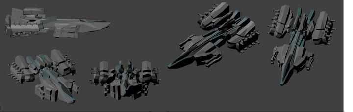 Sci-fi Carrier 1 - Edward Yabut