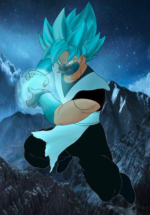 Goku crossover - Teddy's Art