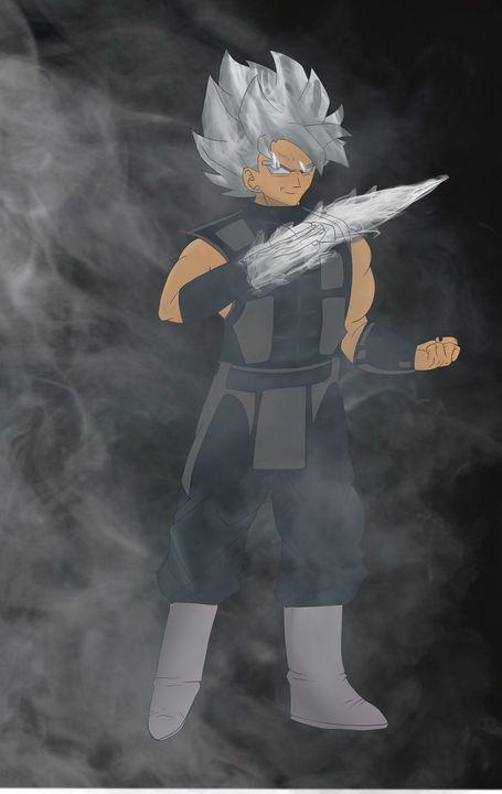 Goku Black x Smoke crossover - Teddy's Art